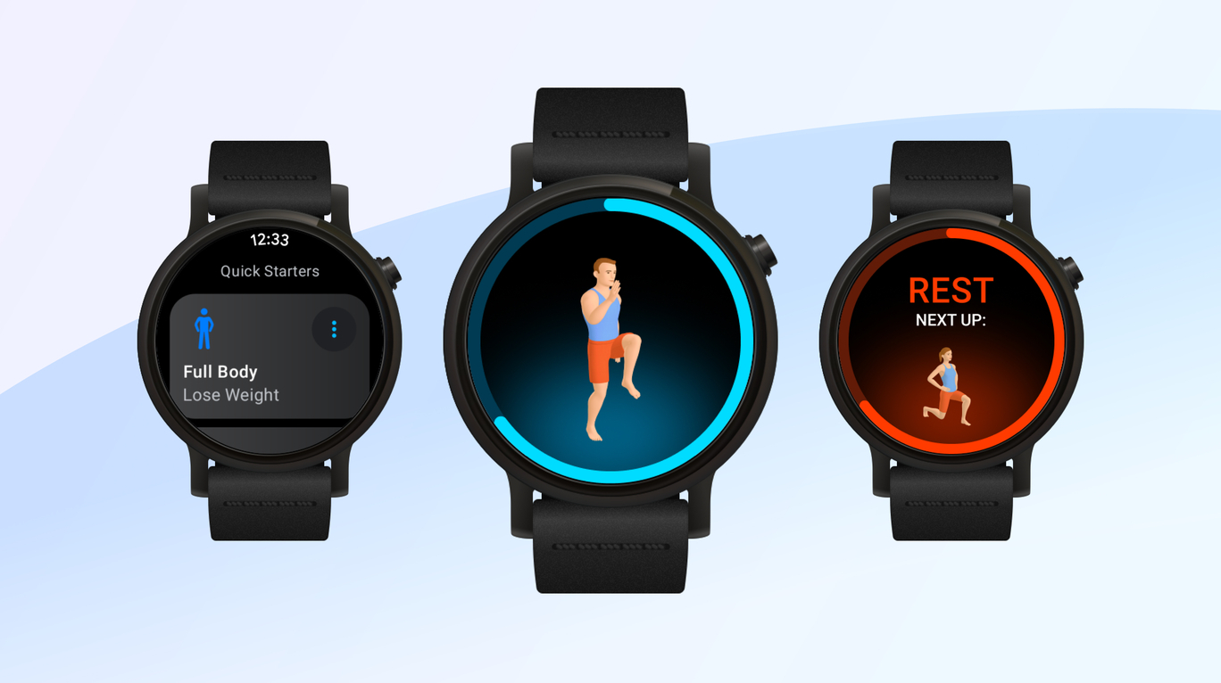 Android wear workout