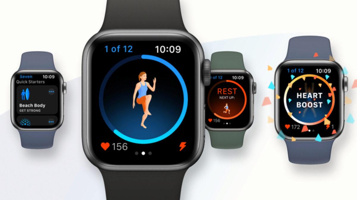 Seven Apple Watch Workouts